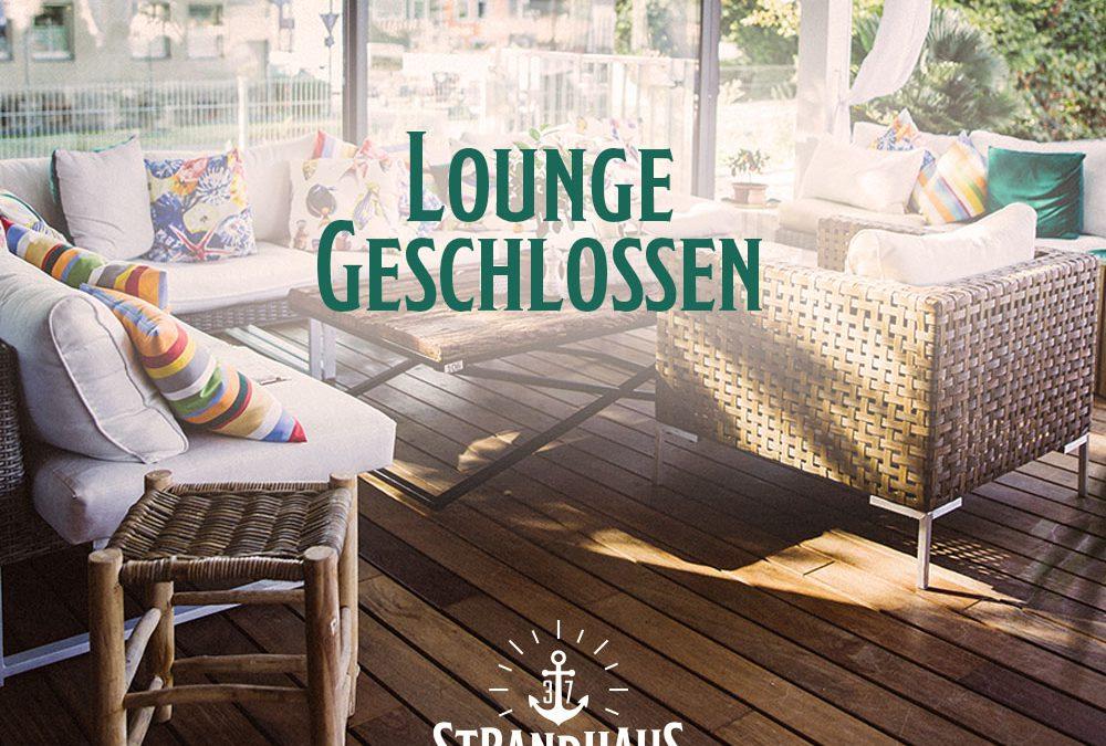 Lounge – Geschlossene Gesellschaft am 10.11.